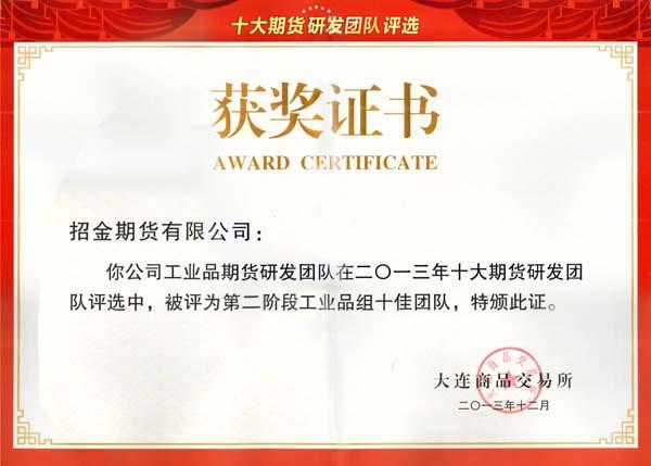 中国十大期货研发团队