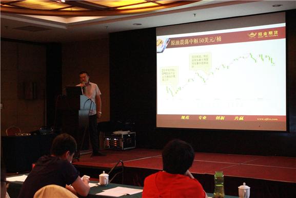 招金期货二季度期货市场交易策略内部分析会圆满成功