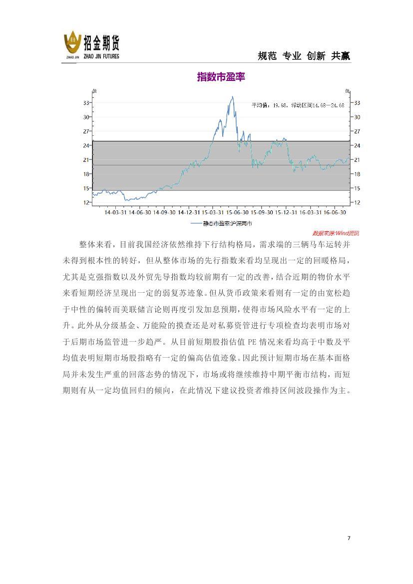 招金期货股指期货月报《均衡市下的牛熊偏转》